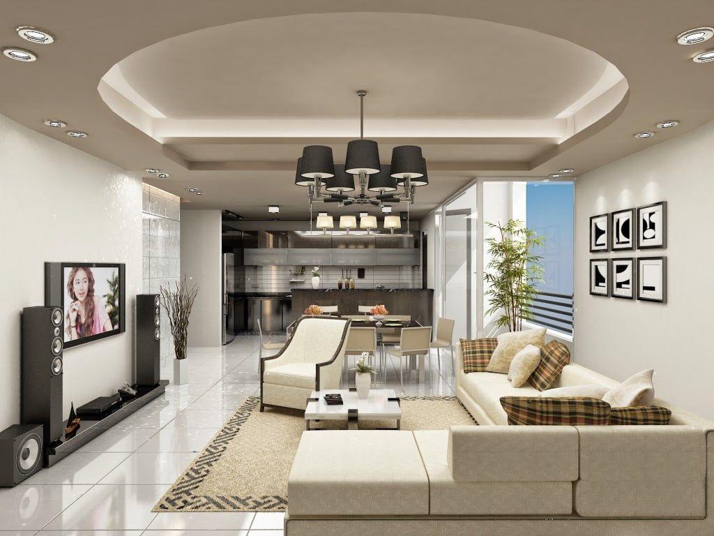 Nguyên tắc lựa chọn đèn chiếu sáng cho phòng khách
