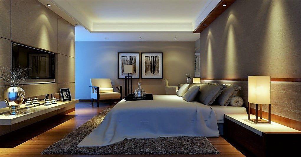 Đèn LED thông minh là sự lựa chọn tốt nhất cho phòng ngủ của bạn