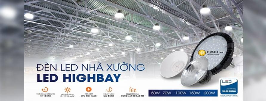 Đèn led nhà xưởng highbay Rạng Đông đem đến nguồn sáng chất lượng