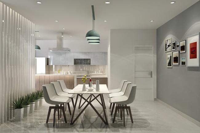 Ứng dụng của đèn led Rạng Đông trang trí nội thất