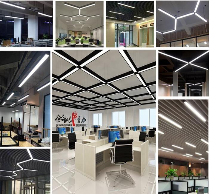 Vì sao nên chọn đèn led thả trần chiếu sáng văn phòng