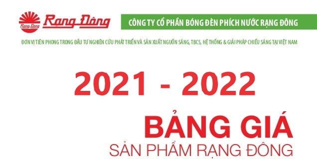 bang gia rang dong 2021 2022