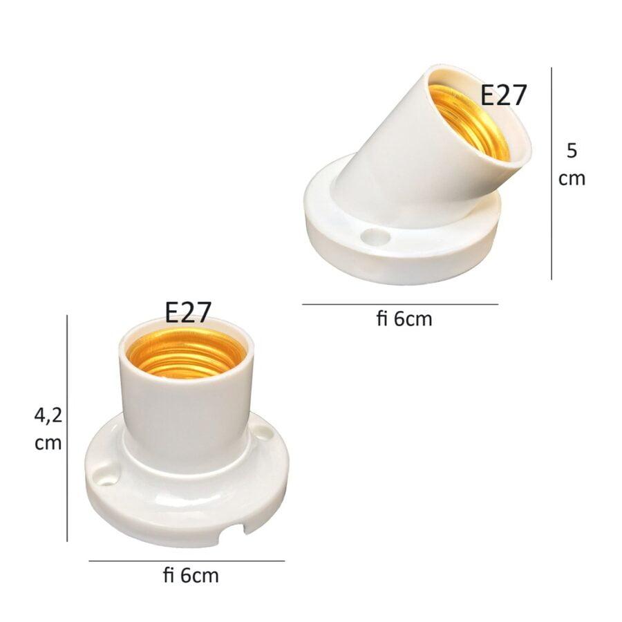 Đui đèn E27 - Đường kính 27mm
