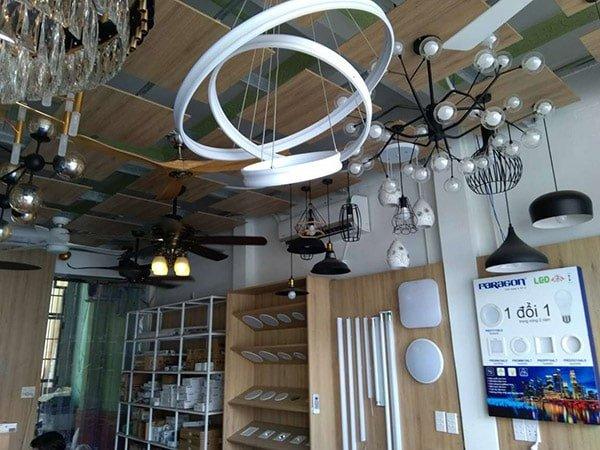 Đại lý phân phối đèn led tại Quy Nhơn