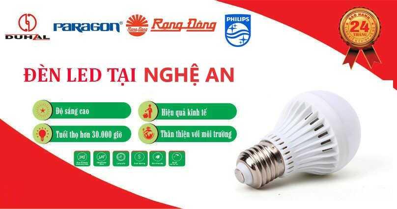 Đại lý phân phối đèn Led uy tín tại Nghệ An